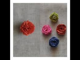 Paper Quilling Rose Flower Basket Quilling Diy Earring How To Make Jhumkas Using Quilling Paper
