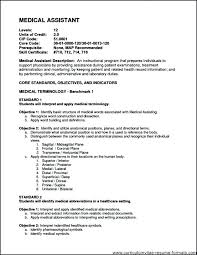 Medical Assistant Resume Objectives Administrative Medical Assistant Resume 18