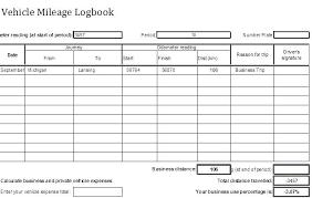 Vehicle Log Template Car Log Book Template Vehicle Log Book