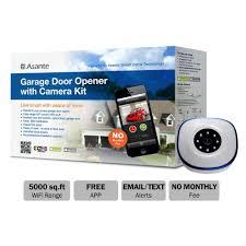 Asante Garage Door Opener with Camera Kit (Live Streaming)-99-00900 ...