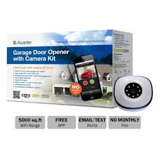 asante garage door opener with kit live streaming