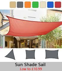 sun shade sail garden patio sunscreen