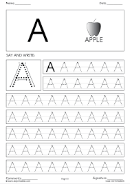 Alphabet and Letters simple and cursive handwriting worksheets