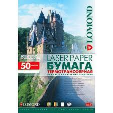 <b>Термотрансферная бумага Lomond</b> (0807320): купить по цене ...