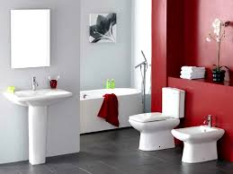 Dark Red Bathroom Accessories Bathroom Wonderful Modern Bathroom Black Red And White Tiles