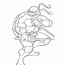 Teenage Mutant Ninja Turtles Raphael Coloring Pages Coloring Pages