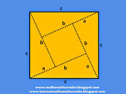 pythagorean theorem exploration cut outs  pythagorean theorem exploration 2 cutouts