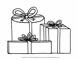 Small Picture Christmas Presents Coloring Pictures Tree With Presents Coloring