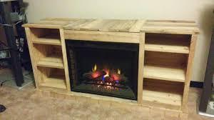 diy pallet fireplace pallet a cabinet inside fireplace