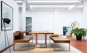 modern kitchen table with bench. View In Gallery Max-table-adesso-bench-from-girsberger.jpg Modern Kitchen Table With Bench N
