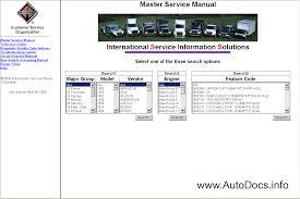 international truck isis international service information repair manuals international truck isis international service information solution 2010 1