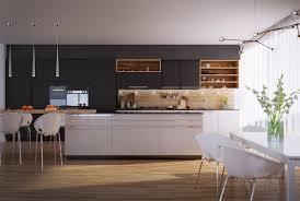 Western Kitchen Kitchen Kitchen Design White Kitchen Style Design Sleek Kitchen
