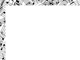 音符フレーム楽譜のシンプルな飾り枠素材 無料イラスト素材素材ラボ