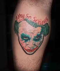 Tetování Joker Fotogalerie Motivy Tetování