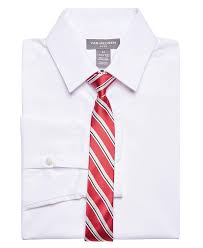 Van Heusen Boys Big Long Sleeve Dress Shirt And Tie Set