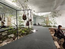Eco friendly corporate office Famous Architect Gardenembedded Interiors Trend Hunter 41 Ecofriendly Office Solutions