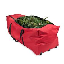 Heavy Duty Canvas Christmas Tree Storage Bag Basic Tree Storage Bag For 2424ft Trees With Wheels On Sale 17