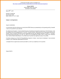 Brilliant Ideas Of Certified Welding Inspector Cover Letter For