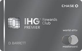 able card art links to ihg registered trademark rewards club premier credit card