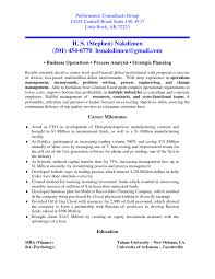 Consulting Resume Examples New Consulting Mckinsey Resume Device