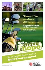 The Salvation Army Kroc Center 2011 Golf Tournament Brochure By The ...