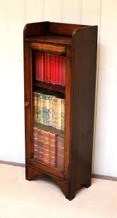 bookcase antique glass door bookcase bookcases the largest antiques website single