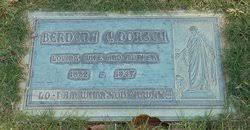 Berdena Cecilia Dales Dorsey (1882-1947) - Find A Grave Memorial