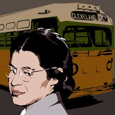 Image result for rosa parks clipart