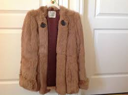 las 1980s real fur coney jacket size 14 as new perfect i can deliver if local 45