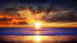 صور شروق الشمس مكتوب عليها
