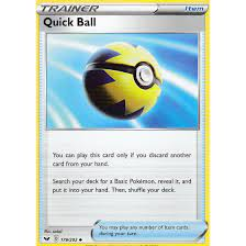 Quick Ball 179/202 SWSH01 Sword & Shield Günstig kaufen