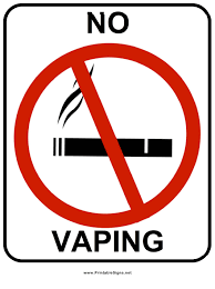 No Vaping Sign Template Download Printable Pdf Templateroller