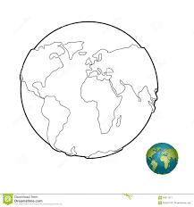 Livre De Coloriage De La Terre Corps Merveilleux Plan Te Avec Des Dessin De La Planete Terre A Colorier L