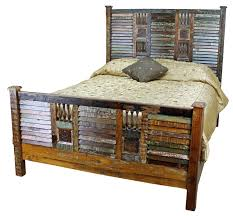 wood and iron bedroom furniture. Bedroom Western Rustic Furniture Brown Plank Wood Frame Bed Corner Chest Of Drawer Glass Door Panel And Iron O