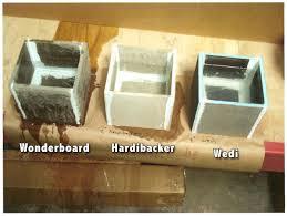 cement board backer board comparison review