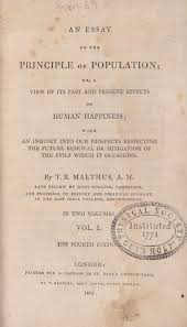 king s collections online exhibitions scrooge and malthus title page from malthus essay on the principle of populationscrooge s