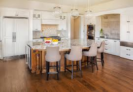 Engineered Wood Flooring Kitchen Engineered Vs Solid Hardwood Flooring The Flooring Lady