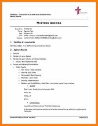Agenda For Meetings Format Meeting Agenda Template Doc Template Business