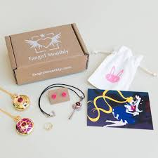 anime manga inspired jewelry and accessories subscription based on a monthly theme