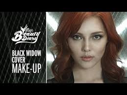 pony s beauty diary black widow cover makeup with subs 스칼렛 요한슨 메이크업