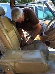 jeep grand wagoneer seat upholstery