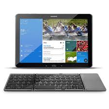 Wireless Tri Fold Bluetooth Keyboard Mouse Touch Pad For Android