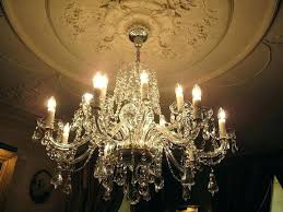 chandeliers waterford chandelier for chandeliers for crystal chandelier on vintage 6 arm never