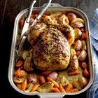 baked whole chicken with rosemary