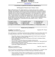 Business Professional Resume Samples