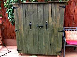 Outdoor Storage Cabinet  Gallery Of Storage Sheds Bench - Exterior storage cabinets