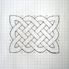 patterns to draw on graph paper how to draw a celtic knot pattern
