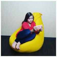 ROZETKA | <b>Кресло</b>-груша <b>BeanBag</b> Melody <b>L</b> Yellow. Цена, купить ...
