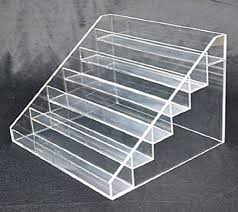 Acrylic Tiered Display Stands 100 best Cosmetics display images on Pinterest Cosmetic display 8