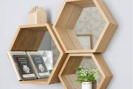 types of shelves. Beautiful Shelves Hexagonal Types Of Shelves On